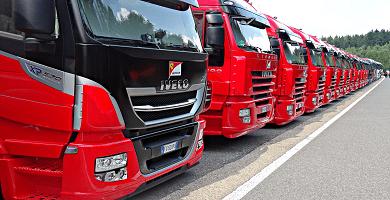 Transmisión de Camión con Tarjeta de Transporte